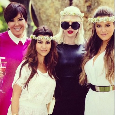 Kris Jenner, Kourtney Kardashian, Joyce Bonelli, Khloe Kardashian