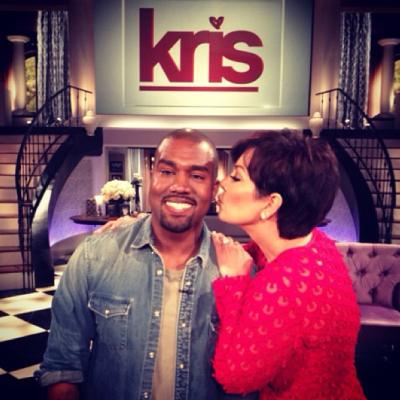 Kanye West & Kris Jenner