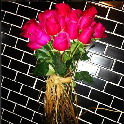 Kim Kardashian's flowers