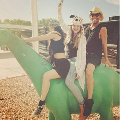 Kylie Jenner, Khloe Kardashian & Rob Scheppy