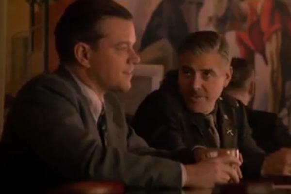 Matt Damon & George Clooney