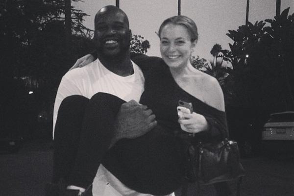 Shaquille O'Neal & Lindsay Lohan