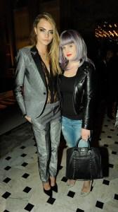 Cara Delevingne & Kelly Osbourne