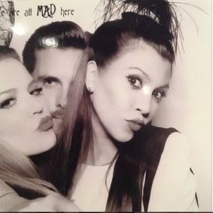 Khloe Kardashian, Scott Disick & Kourtney Kardashian