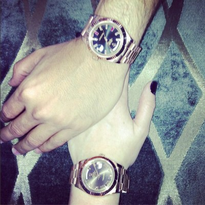 Khloe Kardashian & Scott Disick watches