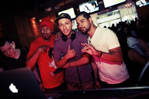 Nick Cannon, DJ Vice & Wilmer Valderrama
