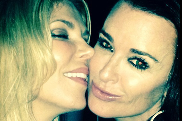 Brandi Glanville & Kyle Richards