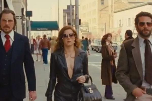 Christian Bale, Amy Adams & Bradley Cooper