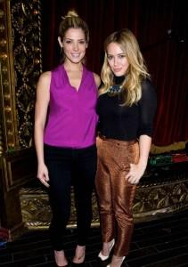 Ashley Greene & Hilary Duff