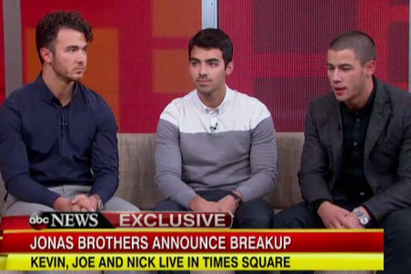 Kevin, Joe & Nick Jonas