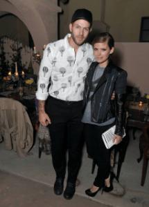 Johnny Wujek & Kate Mara