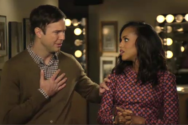 Taran Killam & Kerry Washington