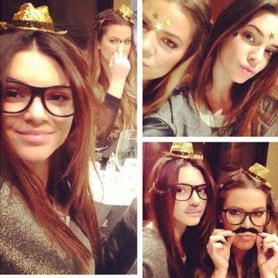 Kendall Jenner & Khloe Kardashian