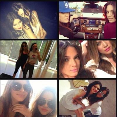 Khloe Kardashian & Kendall Jenner