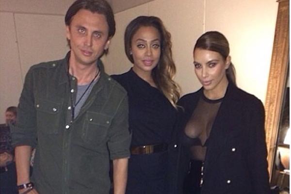 Jonathan Cheban, Lala & Kim Kardashian