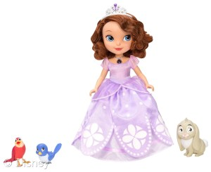 Sofia the First Magical Talking Doll with Animal Friends