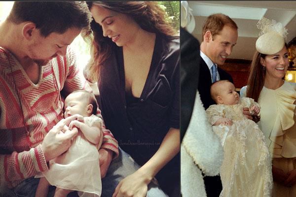Channing Tatum & Jenna Dewan and Prince William & Kate Middleton