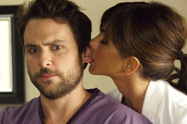 Charlie Day & Jennifer Aniston