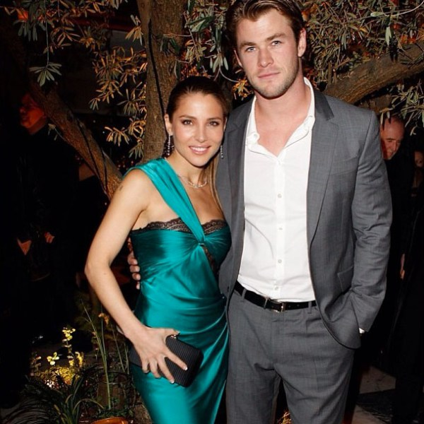 Elsa Pataky & Chris Hemsworth