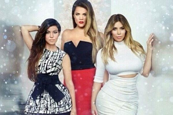 Kourtney, Khloe & Kim Kardashian