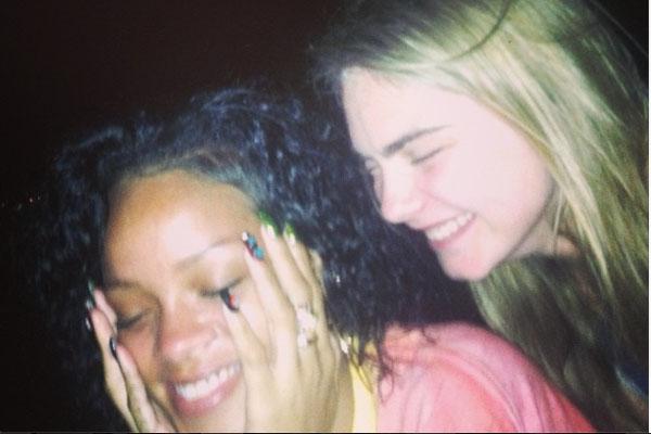 Rihanna & Cara Delevingne