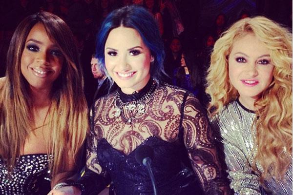 Kelly Rowland, Demi Lovato & Paulina Rubio