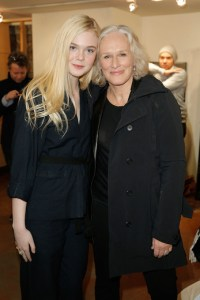 Elle Fanning & Glen Close