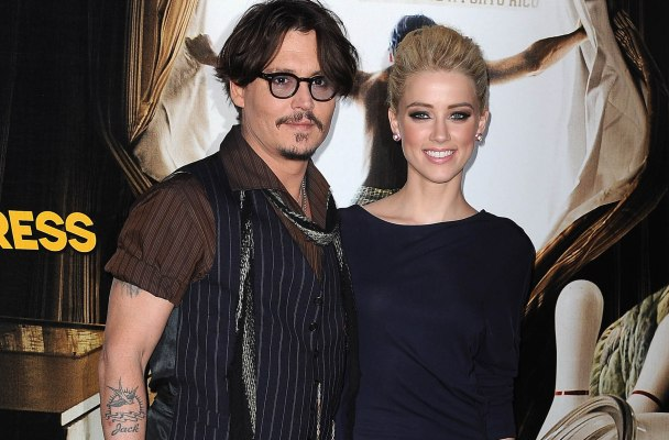 Johnny Depp & Amber Heard