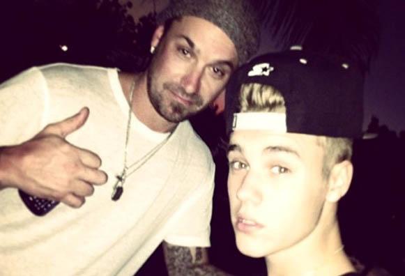 Jeremy & Justin Bieber