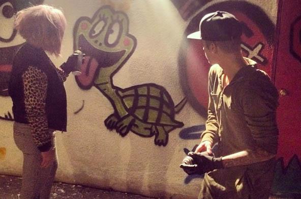 Kelly Osbourne & Justin Bieber