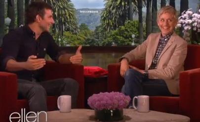 Bradley Cooper & Ellen DeGeneres