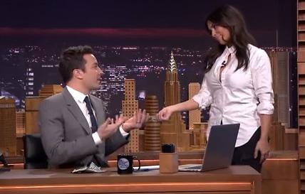Jimmy Fallon & Kim kardashian