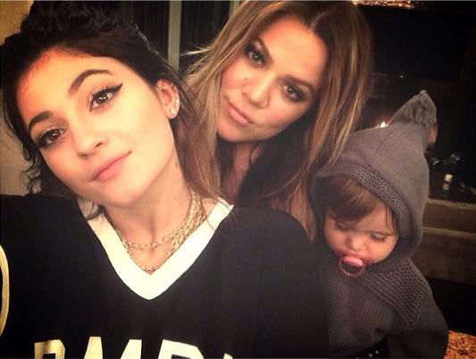 Kylie Jenner, Khloe Kardashian & Penelope Disick