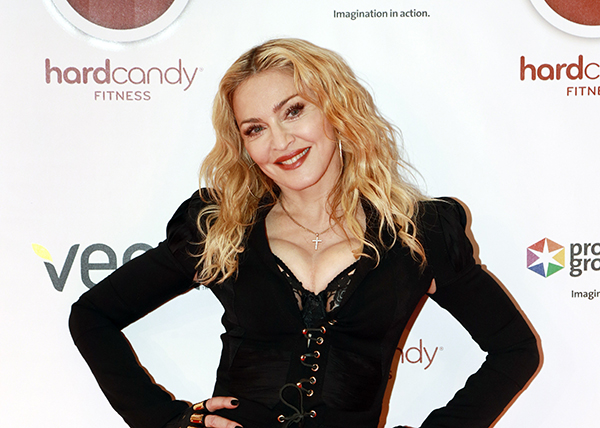 Madonna at Hardy Candy Fitness in Toronto