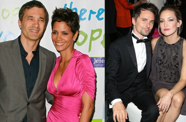 Olivier Martinez, Halle Berry, Matthew Bellamy & Kate Hudson