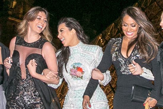 Kardashian West Wedding Party Sightings In Paris