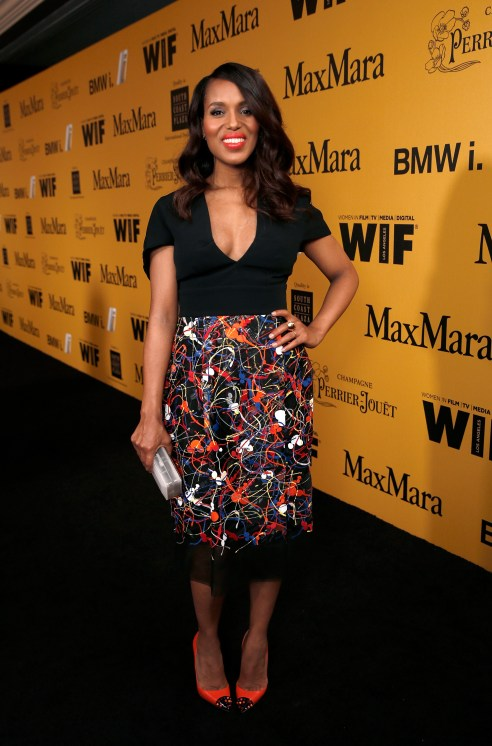 Women In Film 2014 Crystal + Lucy Awards Presented By MaxMara, BMW, Perrier-Jouet And South Coast Plaza - Red Carpet