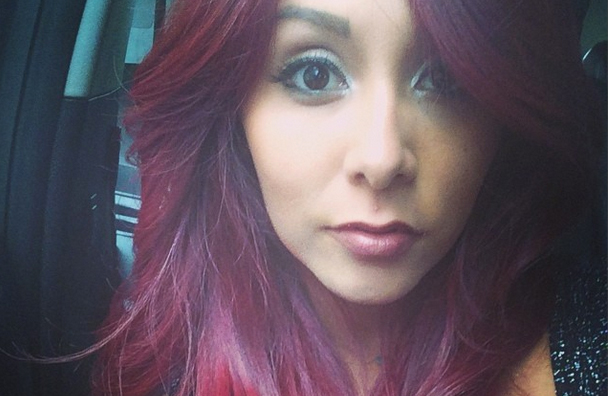 snooki hairstyles : WATCH: Snooki Gets Her Hair Done -- See the Process! Star Magazine