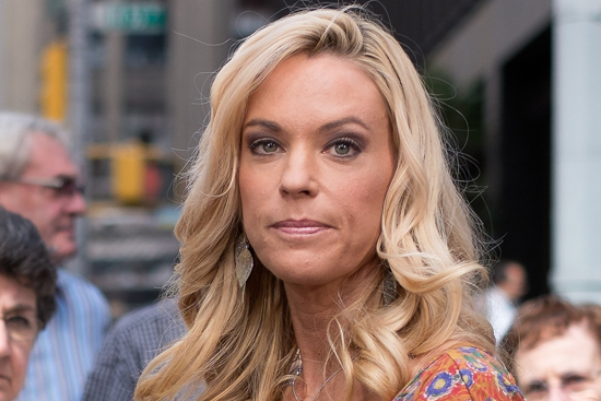 "Kate Gosselin Visits ""Extra"""