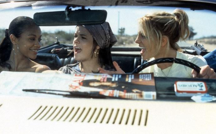Zoe Saldana And Britney Spears In 'Crossroads'