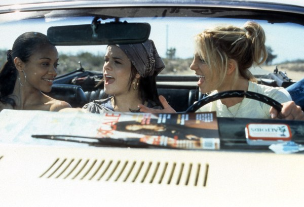Zoe Saldana And Britney Spears In 'Crossroads'