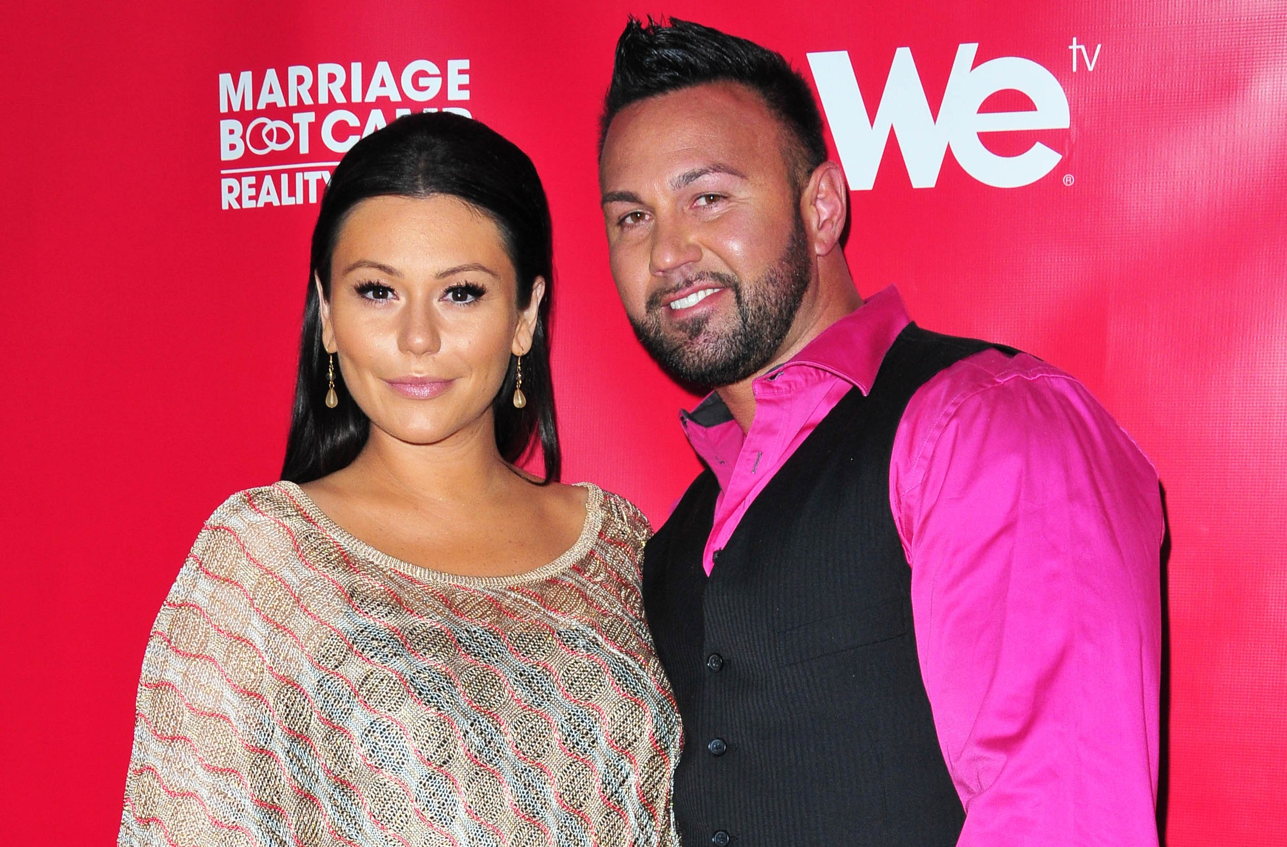 Pictured: JWoww Jenni Farley and Roger Mathews