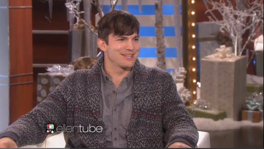 Ashton Kutcher Emotional