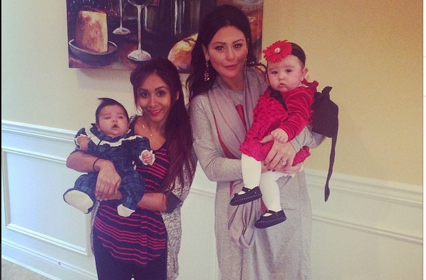 Snooki and Jwoww Daughters