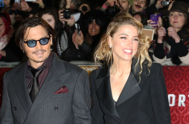 Johnny Depp, Amber Heard Wedding