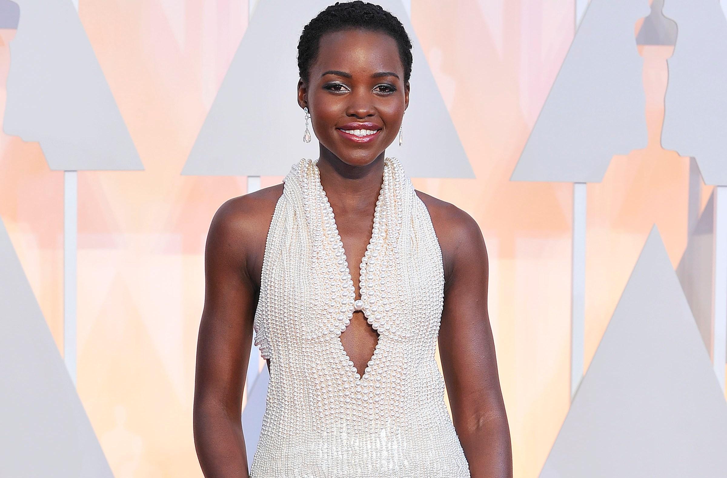 Lupita Nyong'o Oscars Dress