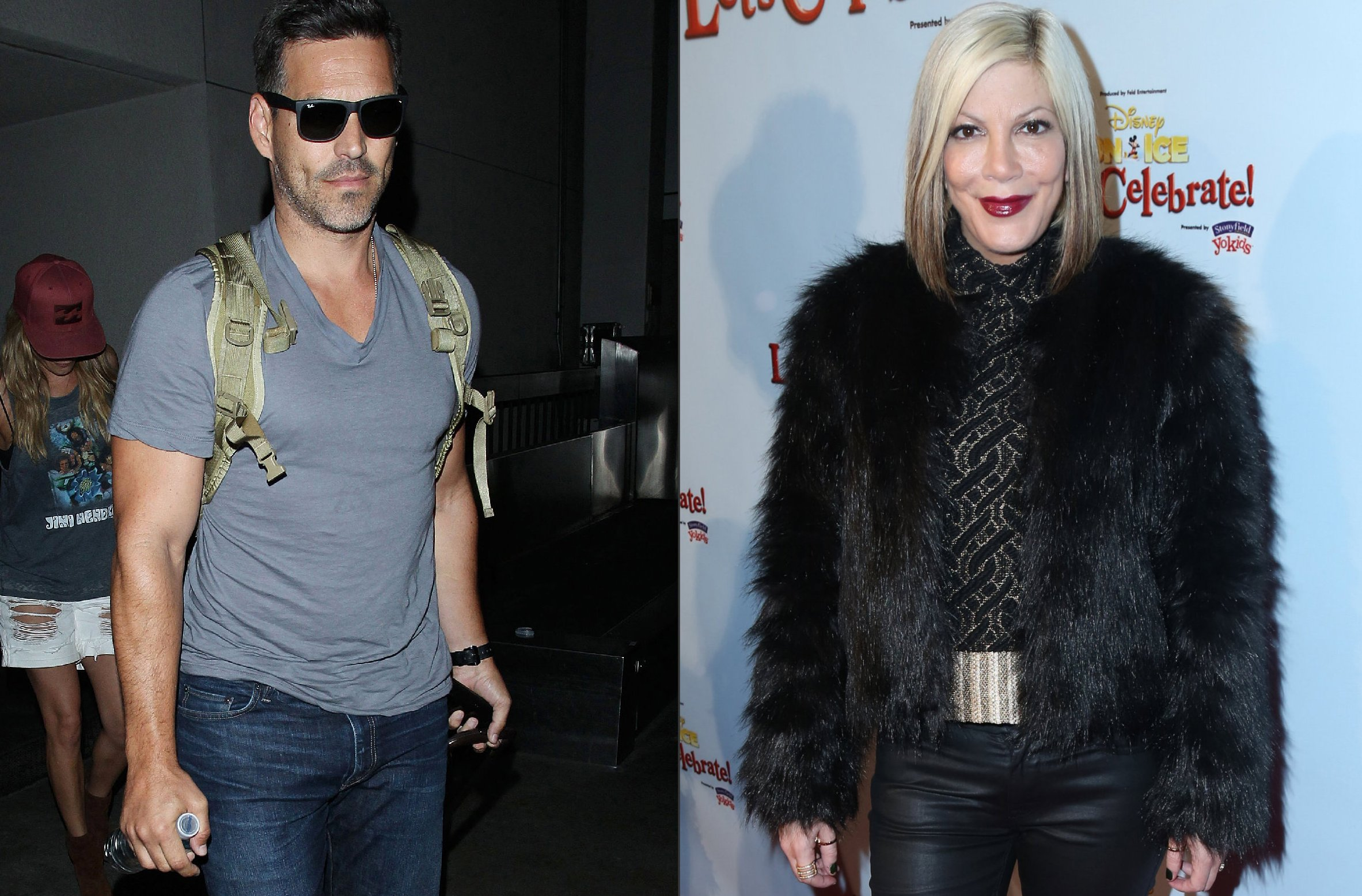 Tori Spelling, Eddie Cibrian Dated