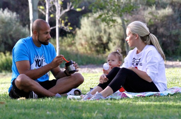 Kendra Wilkinson, Hank Baskett Together