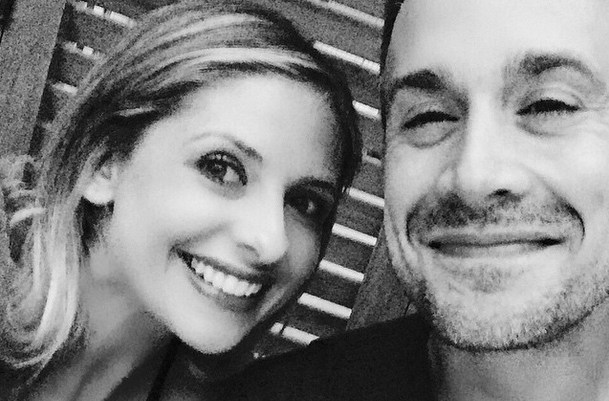 Sarah Michelle Gellar, Freddie Prinze Jr. Date Night