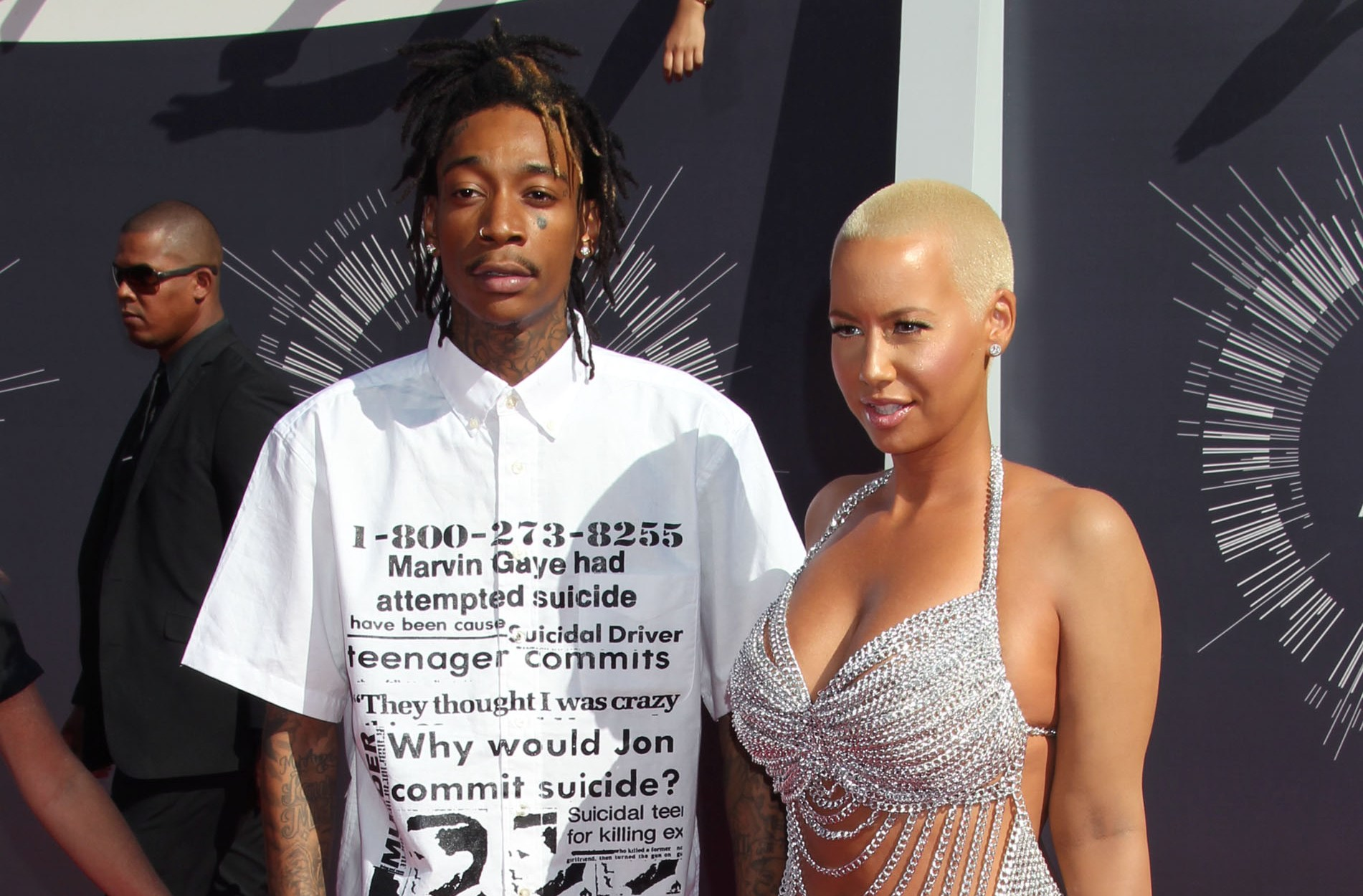 Wiz Khalifa, Amber Rose Fight